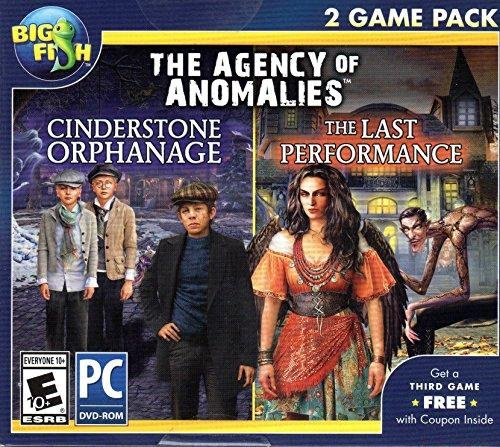 The Agency of Anomalies 2 Game Pack CINDERSTONE ORPHANAGE + LAST PERFORMANCE Hidden Object PC Game