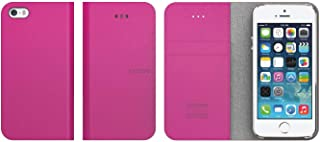 aRaREE Hybrid Wallet Carrying Case for iPhone 5/5s - Retail Packaging - Pink