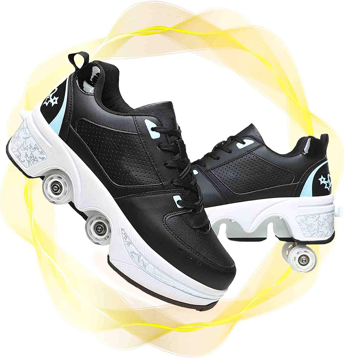 Max 68% OFF Opening large release sale Men and Women Deformation Roller Shoes 2-in Multi-Purpose Skates