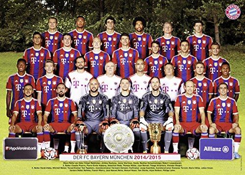 Ravensburger 19387 - FC Bayern München, Saison 14/15-1000 Teile Puzzle