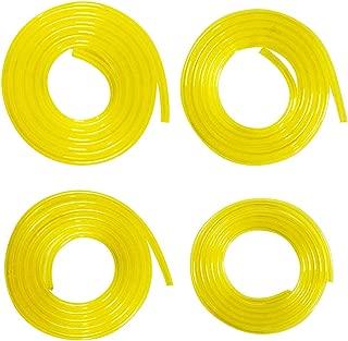 tanstool Capillaire en t/éflon Tube isol/é au PTFE 2,5mm /× 4mm 100M Haute Temp/érature R/ésistance /à la corrosion Tube en plastique de laboratoire