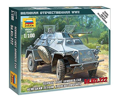 Zvezda–z6157–Modellbau–Panzer Sturmgewehr–Sd. kfz. 222