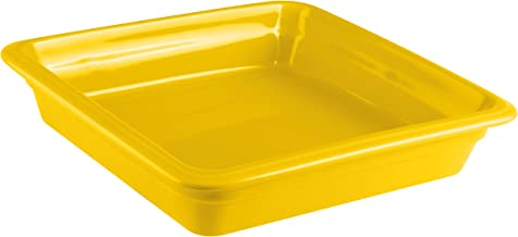 Paderno World Cuisine 44313Y06 Induction Or Porcelain Hotel Pan Medium Yellow
