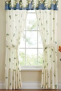 leaf design curtains