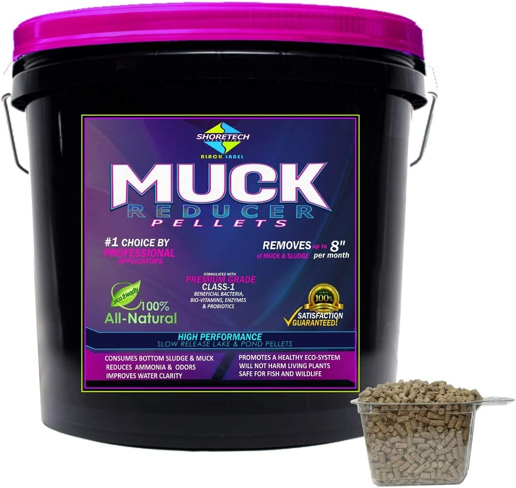 Free shipping anywhere in the nation Shore-Tech Industries Black Label Attention brand Grade Commercial MUCK Pellets