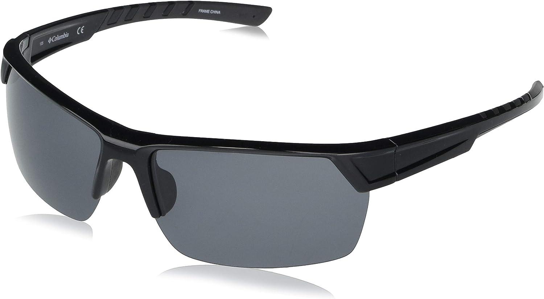 Columbia Men's Peak Racer Rectangular Sunglasses