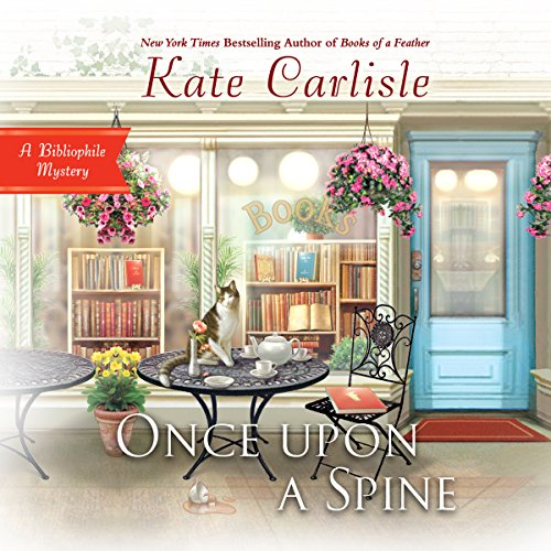 Once upon a Spine                   By:                                                                                                                                 Kate Carlisle                               Narrated by:                                                                                                                                 Susie Berneis                      Length: 7 hrs and 43 mins     117 ratings     Overall 4.6