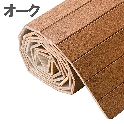 コルクカーペット江戸間6畳260x350cmカラー:オーク