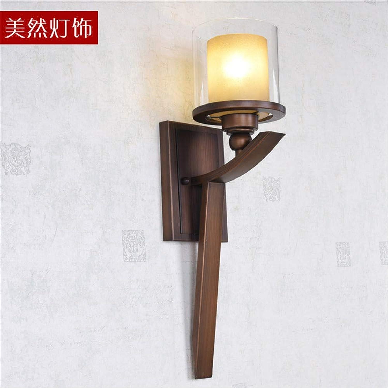 JJZHG Wandleuchte Wandlampe Wasserdicht Wandbeleuchtung Schne Wandleuchte Wohnzimmer Schlafzimmer Lampe badezimmerspiegel Scheinwerfer Retro licht Hintergrund Wandleuchte (13  52 cm) Wandlampe