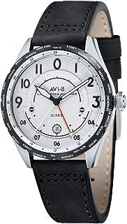 アビエイト 腕時計 英国ブランド ホーカーオマージュ腕時計 GMT ランカスターボンバー av-4035-01 [並行輸入品]