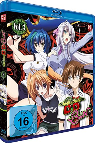 Highschool DxD: BorN - Staffel 3 - Vol.3 - [Blu-ray]