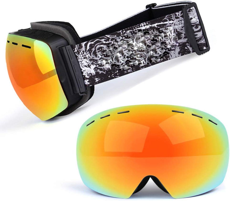 Ski Goggles for Men Women Youth,AntiFog,Over Glasses,100% UV400 Predection,Detachable Lens,AntiGlare Ski Goggles, Suitable for Skiing, Snowboarding, Snowmobiling and Other Winter Sports