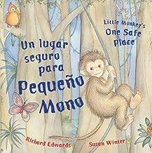 Little Monkey's One Safe Place (Dual Language Spanish/English)