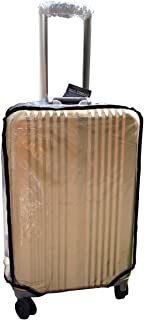 """Clear Luggage Cover Protector, Cover for Travel Luggage (Zipper Style 30"""")"""