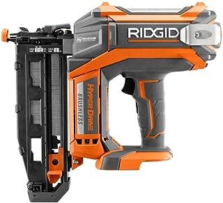 Ridgid ZRR09892B 18V Brushless 16-Gauge 2-1/2 in. Straight Finish Nailer (Bare Tool) (Renewed)