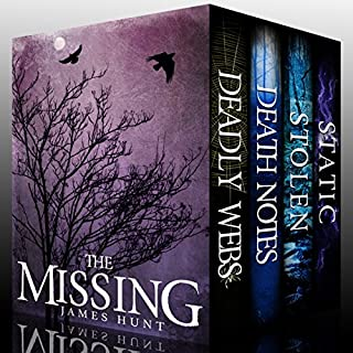 The Missing Super Boxset     A Collection Of Riveting Mysteries              By:                                                                                                                                 James Hunt                               Narrated by:                                                                                                                                 Tia Rider Sorensen,                                                                                        Ramona Master,                                                                                        Gwendolyn Druyor                      Length: 46 hrs and 32 mins     11 ratings     Overall 4.1