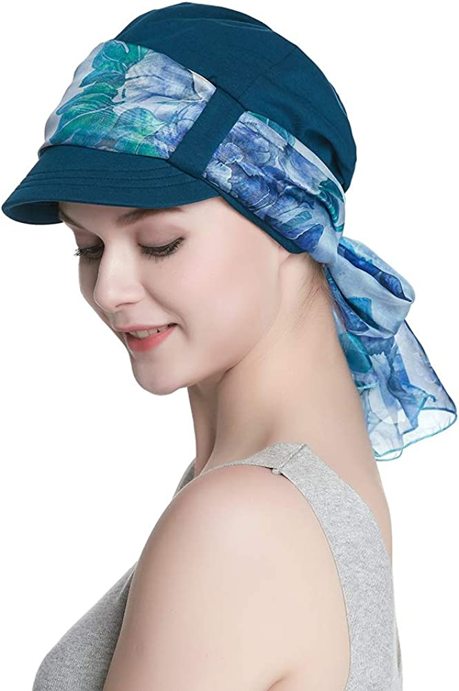 Breathable Bamboo Limited time cheap sale Trust Lined Cotton Hat Women and Set for Scarf