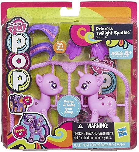My Little Pony – POP – Déco Kit – Zecora – Figurine et Accessoires à Assembler