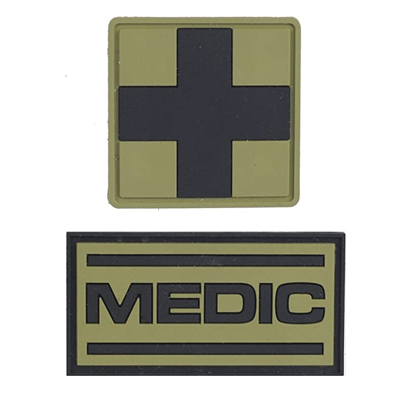 M-Tac Set of Patches Medic and Medical Cross