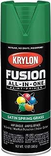 Krylon K02751007 Fusion All-in-One Spray Paint, Spring Grass