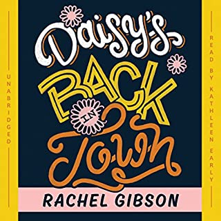 Daisy's Back in Town audiobook cover art