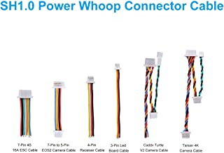 BETAFPV 6pcs SH1.0 Power Whoop Connector Cable Set for 4S F405 FC 12A ESC Whoop Drone Beta85X Brushless Cine Whoop