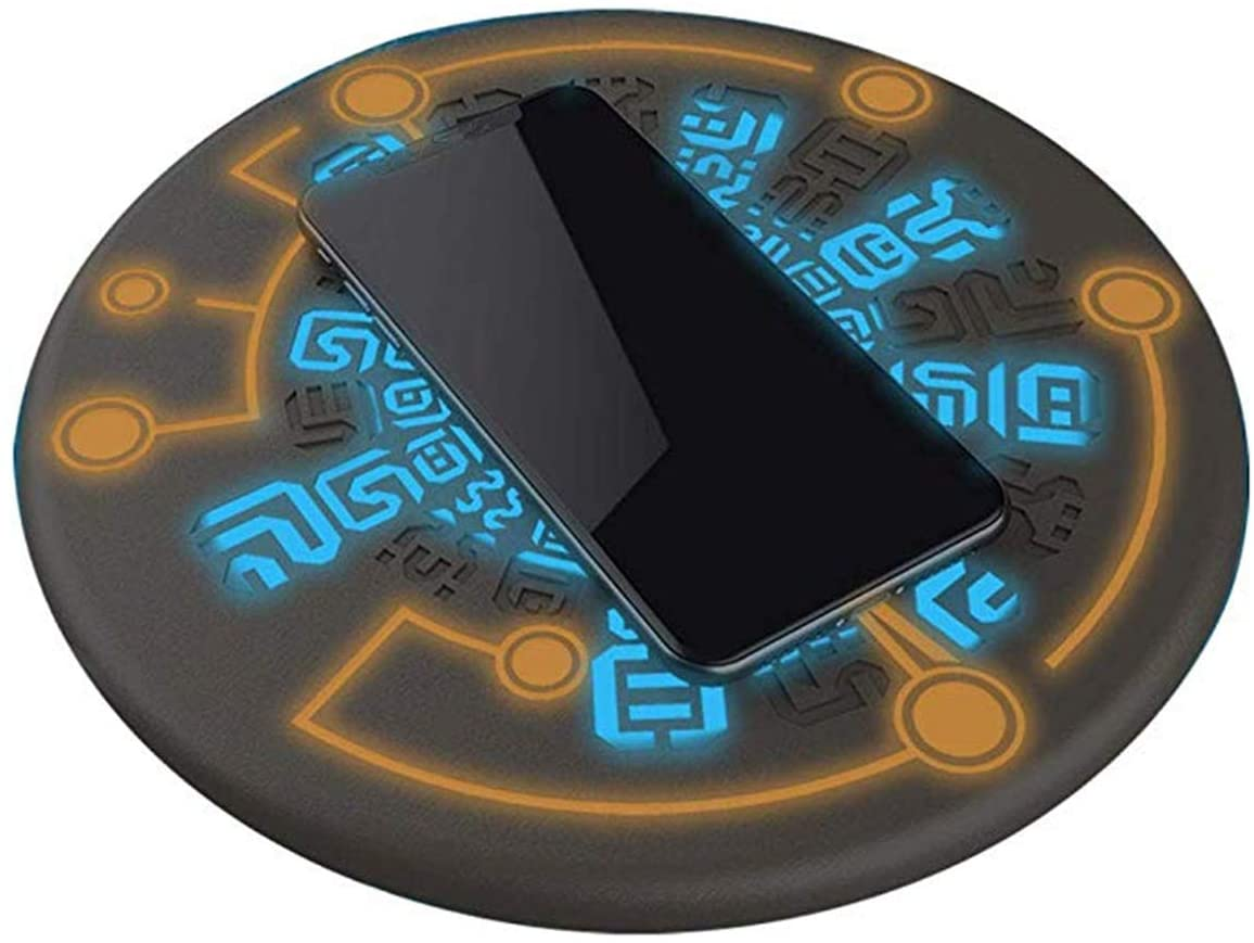 Zelda Wireless Charger Sheikah Slate Phone Charger Magic Circle Charger 10W Quick Charging