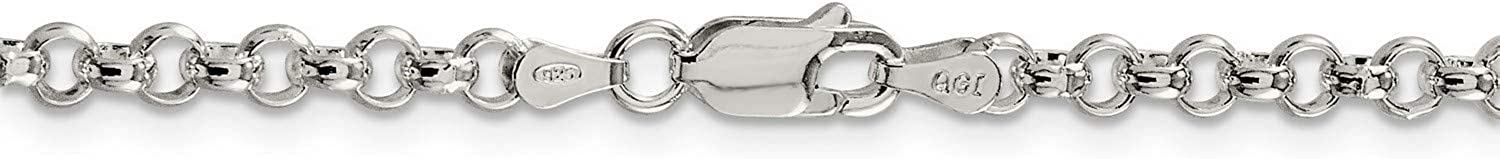 Classic Philadelphia Mall Rolo Chain Necklace Finally resale start in .925 Silver 4 Sterling x 30 mm