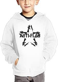 JasonMade Anti Flag Star Shaped Some Broken Guns Kid's Fashion Popular Hooded Hoodies With Pocket