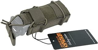 EXCELLENT ELITE SPANKER Tactical Flashlight Holder Open Top Single Magazine Adjustable Mag Pouch