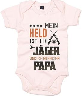 Shirt Happenz Jäger Premium Babybody Berufe Follow Your Dreams Traumberuf Mädchen Kurzarmbody