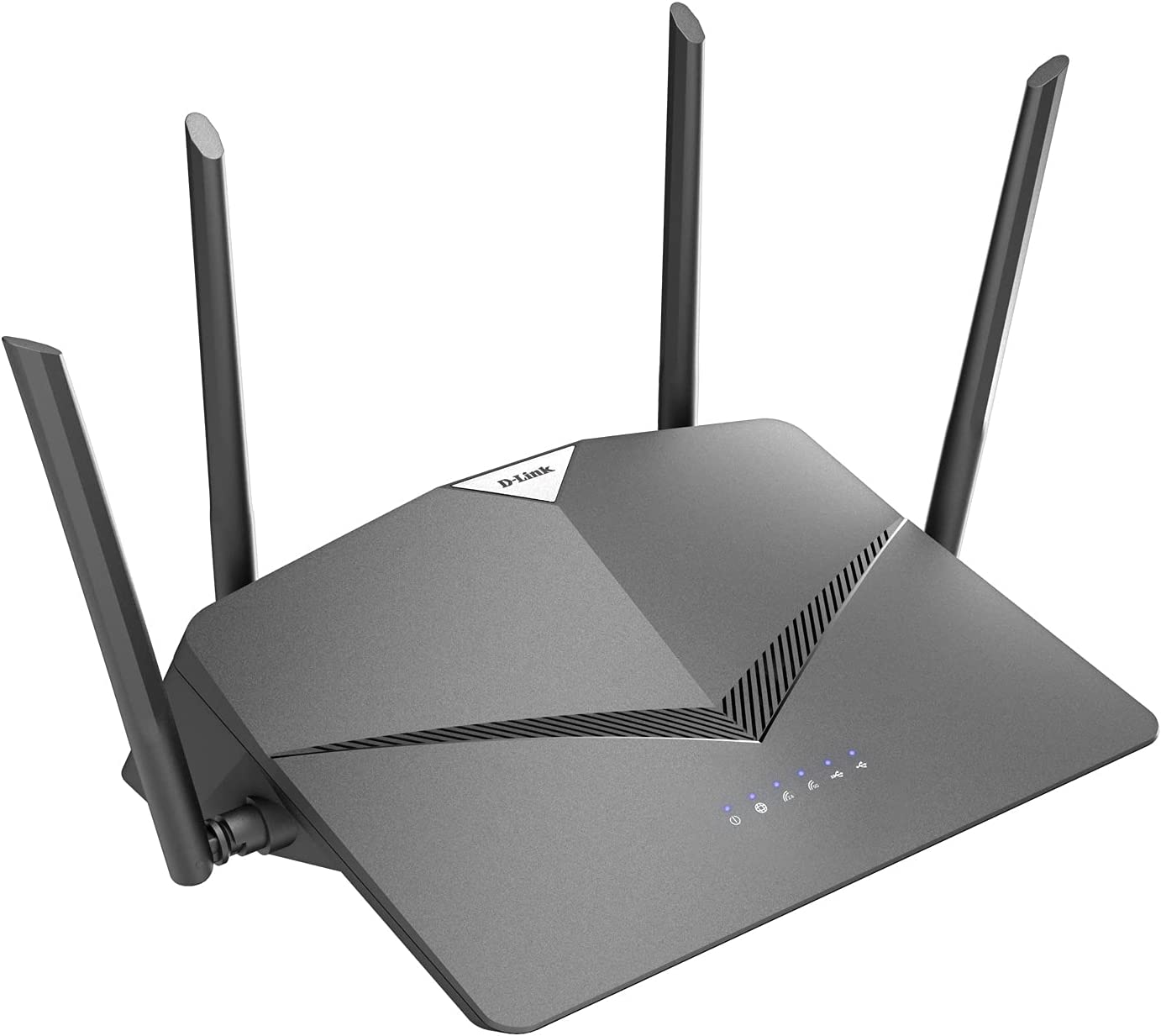 D-Link WiFi Router AC2600 EasyMesh Smart Internet Network Compatible with Alexa & Google Assistant, MU-MIMO Dual Band Gigabit Gaming Mesh (DIR-2640-US)