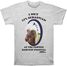 Trevco Men's Parks & Recreation Li'l Sebastian T-Shirt