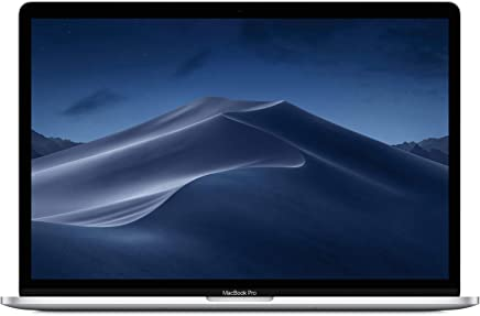 "Apple MacBook Pro (15"" Retina, Touch Bar, 2.2GHz 6-Core Intel Core i7, 16GB RAM, 256GB SSD) - Silver (Latest Model)"