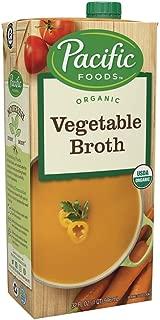 Pacific Foods Organic Vegetable Broth, 32oz, 12-pack