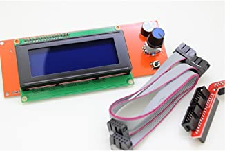 BIQU Smart Display Controller Ramps 1.4 2004LCD Controller with Adapter for 3D Printer RepRap Adapter