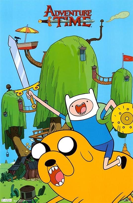 Adventure Time - Finn & Jake Poster 22 x 34in
