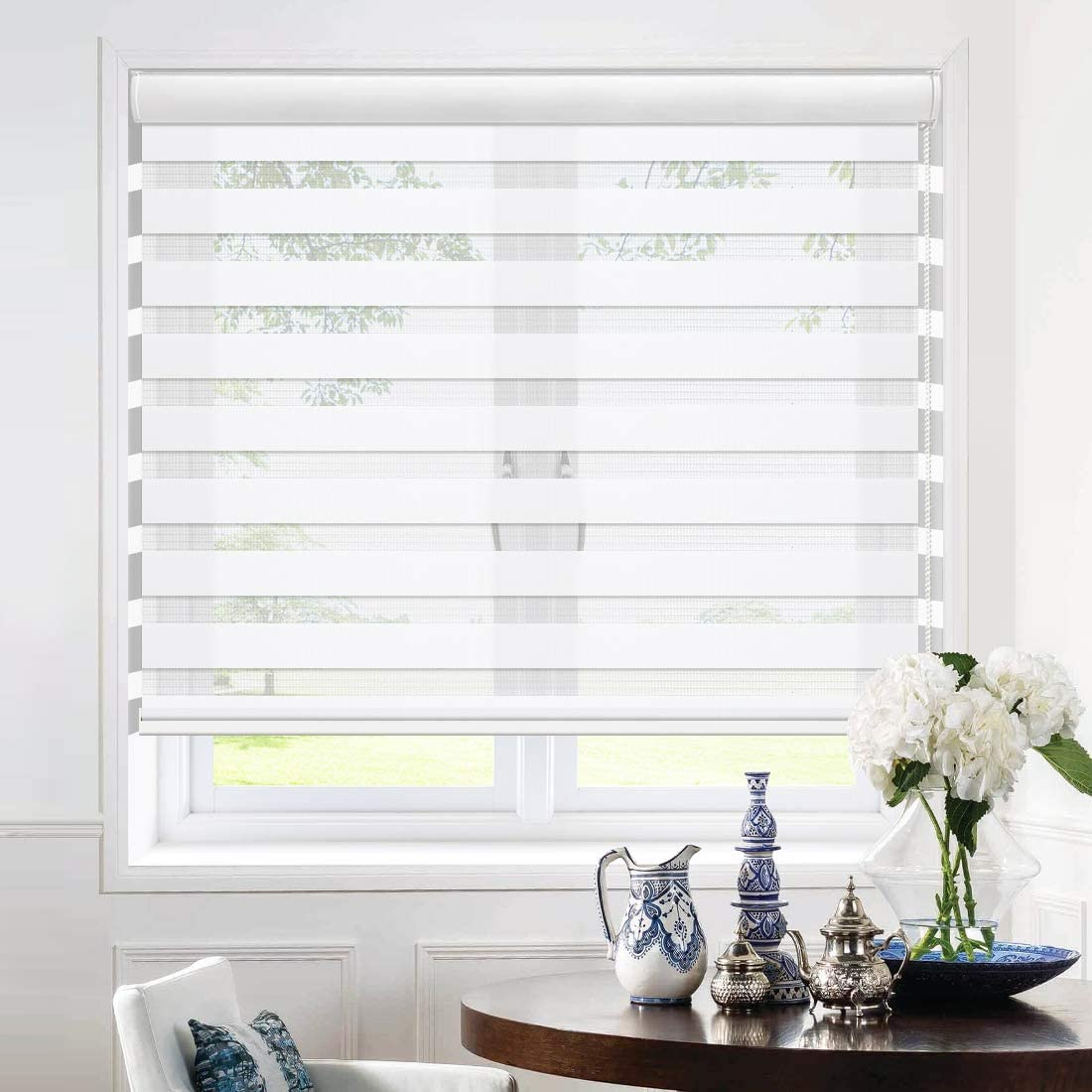 Keego Window Blinds Custom Cut to Outstanding Super special price with Dual Zebra Size La