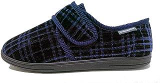 Dunlop Mens Famous Bernard Touch & Close Slippers