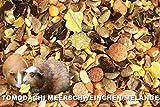 Meerschweinfutter pelletfrei, Nagerfutter, natürliche Nagerfuttermischung mit Möhrenflocken, Erbsenflocken, Erdnüssen, Sonnenblumenkernen, Kardi, Maisflocken und Kräutern – leckerer bunter Knabbermix, Alleinfutter für Meerschweinchen, Rundum-Sorglos Futtermischung Tomodachi Meerschweinchen Melange 5kg Eimer - 3