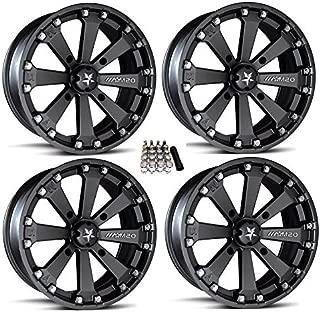 MSA M20 Kore ATV Wheels/Rims Black 14