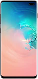 Samsung Galaxy S10+ Plus, Verizon GSM Unlocked 512GB, Ceramic White (Renewed)