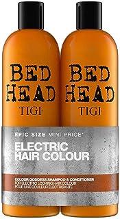 Tigi Bed Head by Tigi Colour Goddess Shampoo & Conditioner for Coloured Hair (2), 1500 ml, Pack of 2