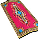 Raan Pah Muang Afrika Dashiki Colour Baumwollstoff für 1