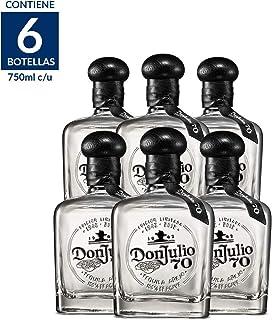 Tequila Don Julio 70 Añejo Cristalino - 750 ml / 6 Piezas