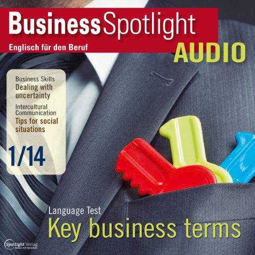 Business Spotlight Audio - Dealing with uncertainty. 1/2014 Titelbild