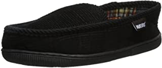 Men's Corduroy Moccasin with Flannel Lining Slip-On Loafer