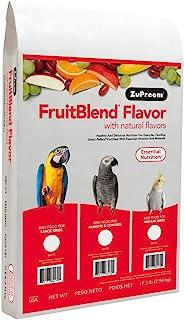 ZuPreem AvianMaintenance FruitBlend Bird Diet for Large Birds 17.5 pounds