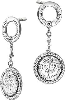 Just Cavalli Stainless Steel Earrings For Women, JCER00330100