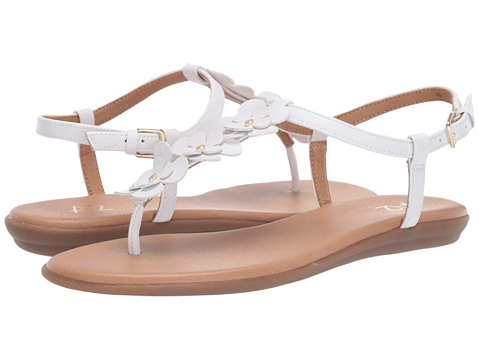 A2 by Aerosoles Chlassy Date (White PU) Women's Sandals